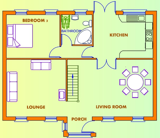 3 beds house plans available from Xplan, Ireland\'s Online House ...