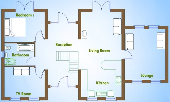 5 bedroom house plans. Floor Plan 5 beds house plans available from Xplan  Ireland s Online House